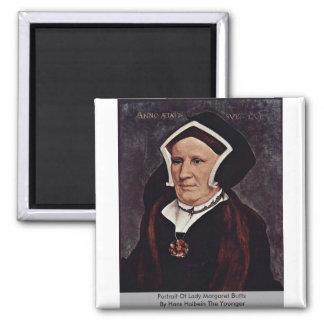 Portrait Of Lady Margaret Butts Magnet