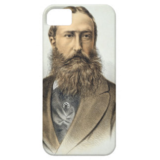 Portrait of Leopold II (1835-1909), King of Belgiu iPhone 5 Covers