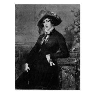 Portrait of Lola Montez , 1844 Postcard