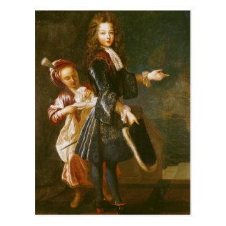 Portrait of Louis-Alexandre de Bourbon Postcard