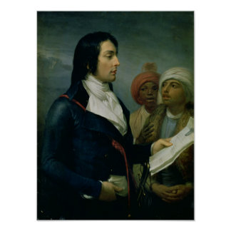 Portrait of Louis-Charles-Antoine Desaix Poster