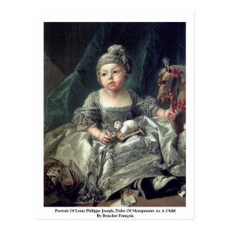 Portrait Of Louis Philippe Joseph Postcard