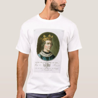 Portrait of Louis VIII, Called 'Le Lion', King of T-Shirt