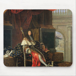 Portrait of Louis XIV  1668 Mouse Pad