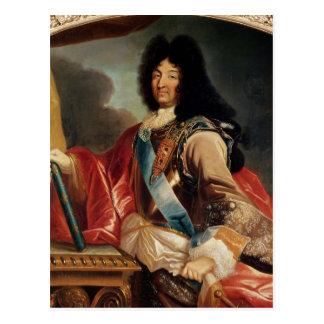 Portrait of Louis XIV 2 Postcard