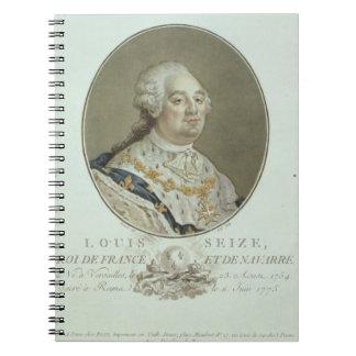 Portrait of Louis XVI (1754-93) from 'Portraits de Spiral Notebooks