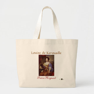 PORTRAIT OF LOUISE de KEROUAILLE Large Tote Bag