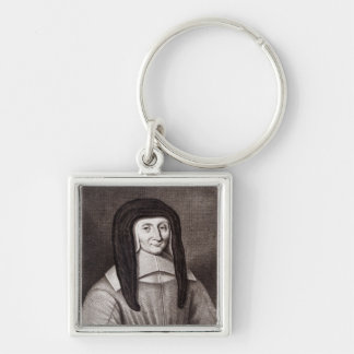 Portrait of Louise de Marillac Keychain