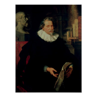 Portrait of Ludovicus Nonnius Poster