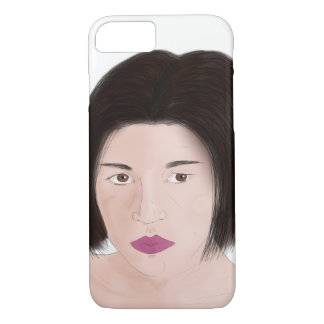 Portrait of Lusy iPhone 8/7 Case