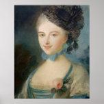 Portrait of Madame Balzac, c.1798 Poster