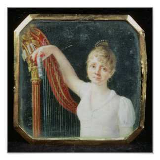 Portrait of Madame Beaumont Poster