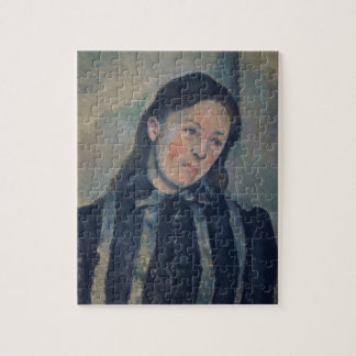 Portrait of Madame Cezanne with Loosened Hair, 189 Jigsaw Puzzle