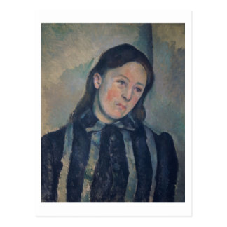 Portrait of Madame Cezanne with Loosened Hair, 189 Postcard