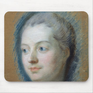 Portrait of Madame de Pompadour  1752 Mouse Pad