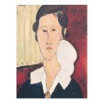 Portrait of Madame Hanka Zborowska, 1917 Postcard