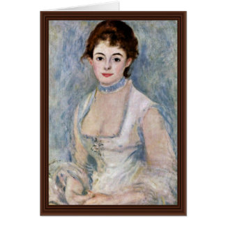 Portrait Of Madame Henriot By Pierre-Auguste Card
