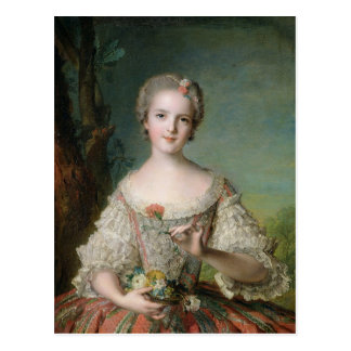Portrait of Madame Louise de France Postcard