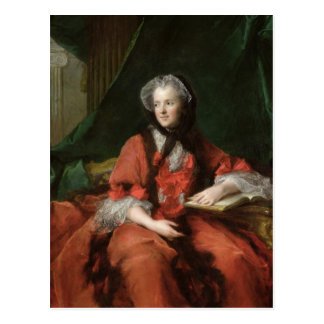 Portrait of Madame Maria Leszczynska  1748 Postcard