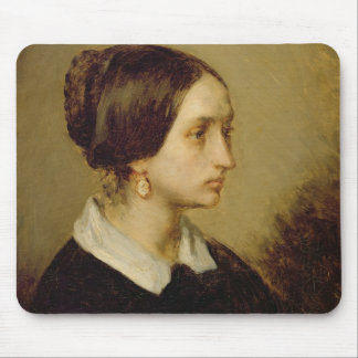 Portrait of Madame Ono, 1844 Mouse Pad