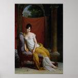 Portrait of Madame Recamier Poster