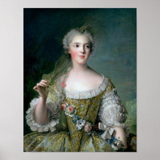 Portrait of Madame Sophie Poster