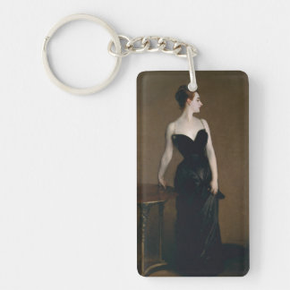 Portrait of Madame X by John Singer Sargent, 1884 Keychain
