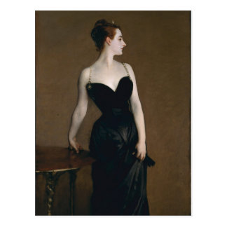 Portrait of Madame X by John Singer Sargent, 1884 Postcard