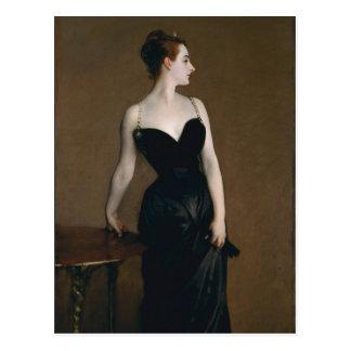 Portrait of Madame X by John Singer Sargent, 1884 Postcard
