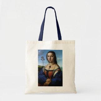 Portrait of Maddalena Doni by Raphael or Raffaello