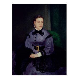 Portrait of Mademoiselle Sicot, 1865 Postcard