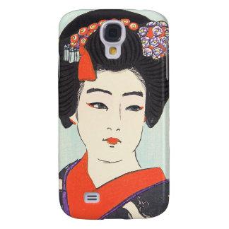 Portrait of Maiko Shunsen Natori japanese fine art Samsung Galaxy S4 Case