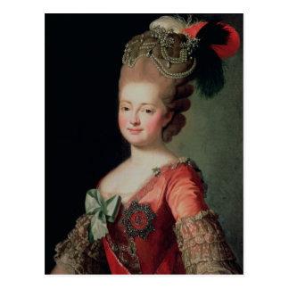Portrait of Maria Fyodorovna Postcard