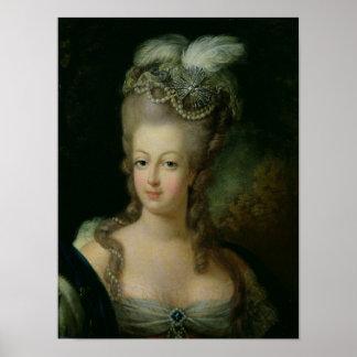 Portrait of Marie-Antoinette Poster