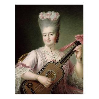 Portrait of Marie-Clothilde of France Postcard