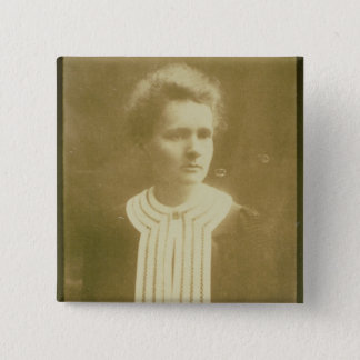 Portrait of Marie Curie 2 Inch Square Button