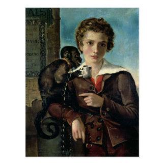Portrait of Marius Petipa in Ballet Postcard