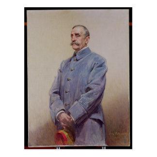 Portrait of Marshal Ferdinand Foch  1920 Postcard