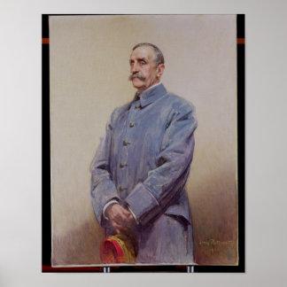 Portrait of Marshal Ferdinand Foch  1920 Poster
