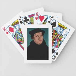 Portrait of Martin Luther, 1529 Bicycle Playing Cards