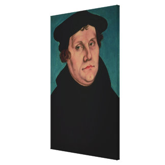 Portrait of Martin Luther, 1529 Stretched Canvas Print