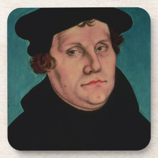 Portrait of Martin Luther, 1529 Drink Coasters