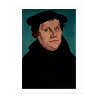 Portrait of Martin Luther, 1529 Postcard