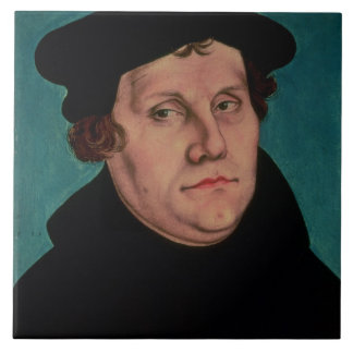 Portrait of Martin Luther, 1529 Tiles