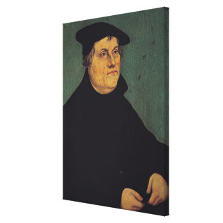 Portrait of Martin Luther  1543 Stretched Canvas Prints