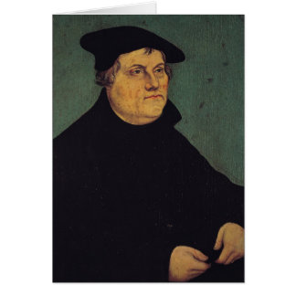 Portrait of Martin Luther  1543 Cards