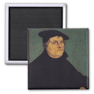Portrait of Martin Luther  1543 Refrigerator Magnet