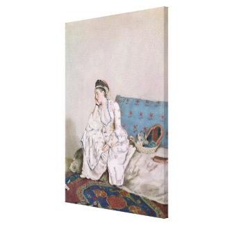 Portrait of Mary Gunning Canvas Print