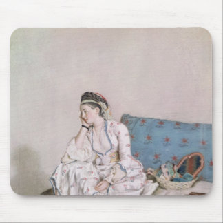 Portrait of Mary Gunning Mouse Pad