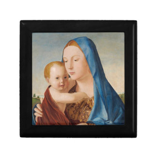 Portrait of Mary Holding  Baby Jesus Gift Box